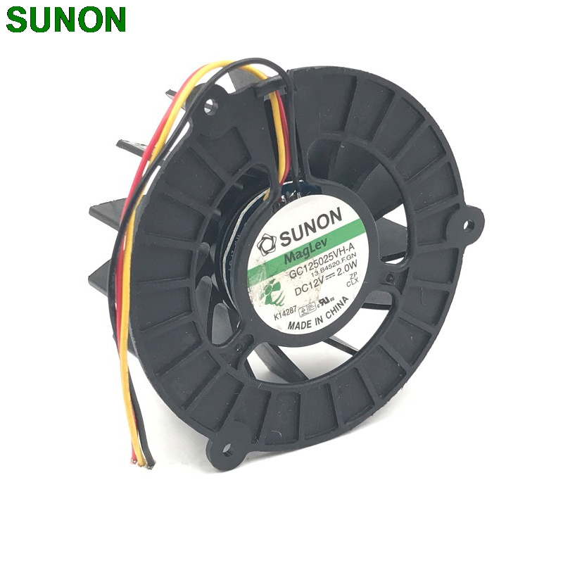 SUNON GC125025VH-A 12V 2.0W 13.B4520.F.GN COOLING FAN new original sunon 4cm psd1204ppbx a 4056 12v 12 2w 800 3375 01 b0 cooling fan