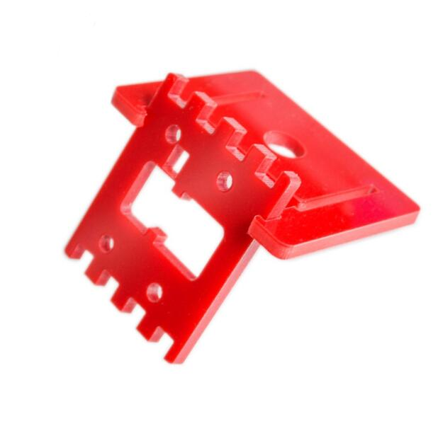 Red Raspberry Pi Camera Bracket Adjustable Camera Mount Not Have Screw