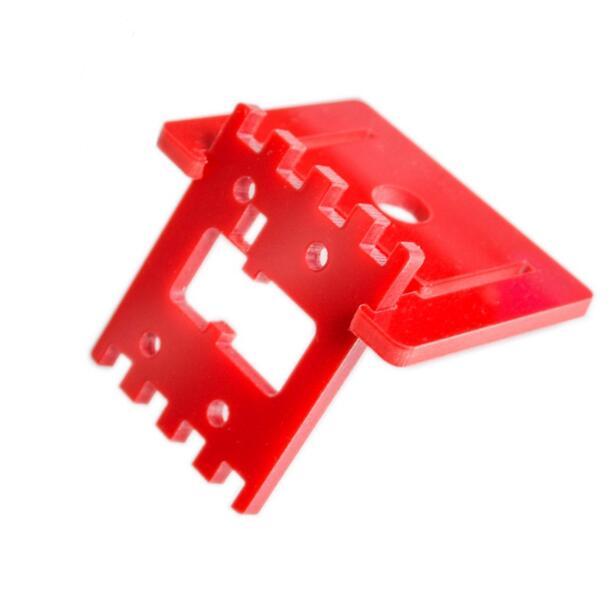 Red Raspberry Pi Camera Bracket Adjustable Camera Mount Not Have Screw