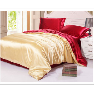 Image 3 - Silk Duvet Cover 1pc 2 Sides Different Colors 100% Mulberry Silk Multicolor Silk Solid Silk 2 Colors can be customized ls180101