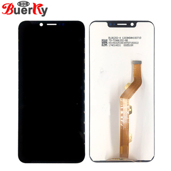 BKparts 5PCS/lot For Tecno Camon 11 Pro CF8 LCD Display With Touch Screen Tecno CF8 LCD Digitizer Complete Assembly Replacement