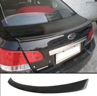Car Styling For subaru Legacy Spoiler small spoilerFRP material rear trunk boot Wing Spoiler Primer and paint color