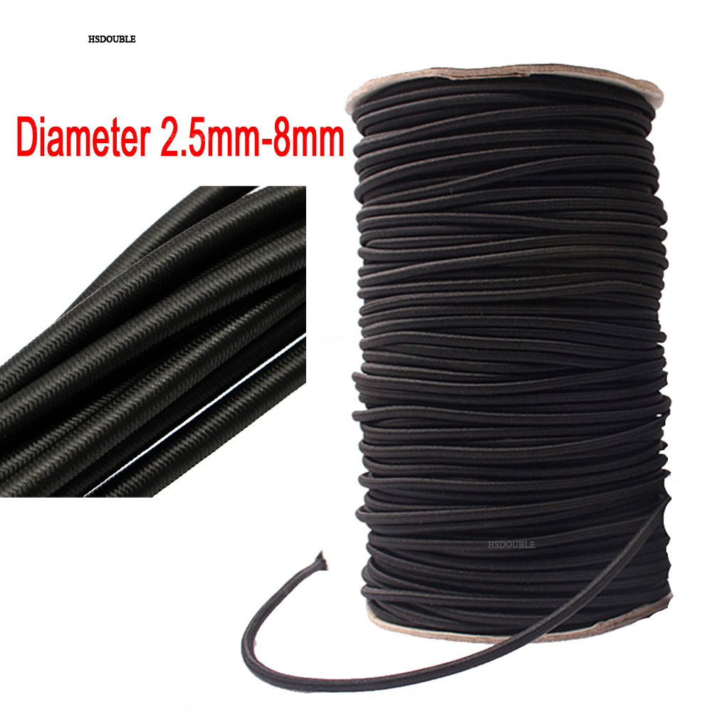 10 Meters Strong Elastic Rope Bungee Shock Cord Stretch String For Diy Jewelry Making Outdoor Project Tent Kayak Boat Backage Arts,crafts & Sewing