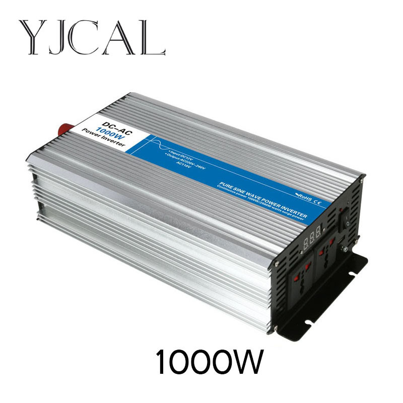 Modified Sine Wave Inverter 1000W Watt DC 12V To AC 220V Home Power Converter Frequency Converter Voltage Electric Power Supply все цены