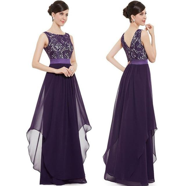 Langes kleid mit blumen
