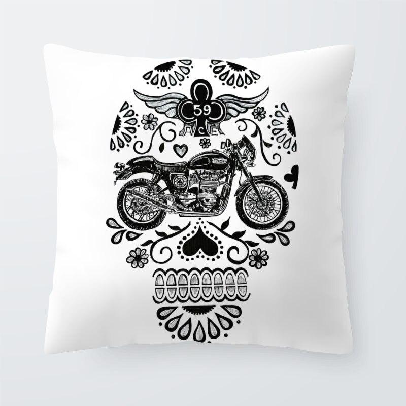 Skull Cushions 2