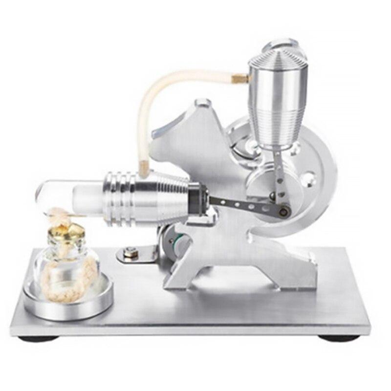 Modèle d'expérience de moteur d'écureuil Stirling à Air chaud modèle de conception de jouet de puissance de vapeur physique de moteur Stirling cadeaux