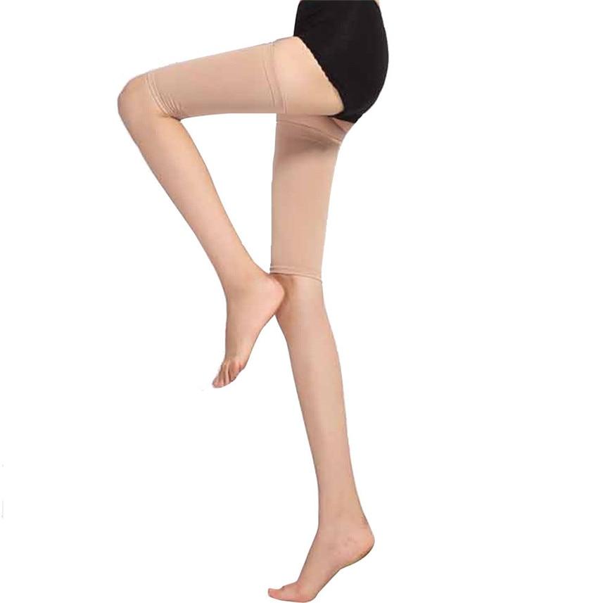 2pcs Slimming Thighs Shaper Elastic Stretch Plastic leg socks