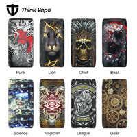 100% Original que Vape Thor 200W TC caja MOD del ThinkVape Thor Pro 220W Mod No 18650 batería vape Thor patrones atractivos