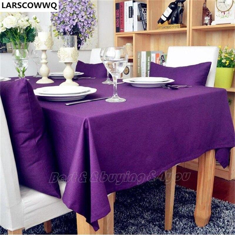 Larscowwq Карамельный цвет Винтаж шаблон подсолнечника обеденный Кофе Таблица хлопок льняной ткани Бесплатная доставка