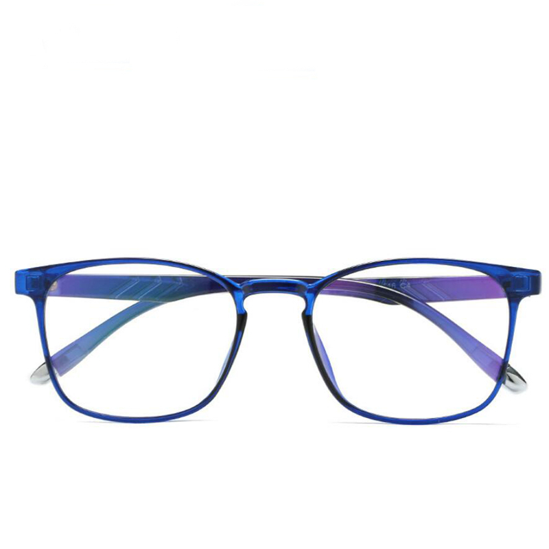 4d74707d9c Detail Feedback Questions about Anti Blue Light Computer Goggles Ultralight  TR90 Transparent Blue Frame Optical Glasses For Unisex Computer Eyeglasses  on ...