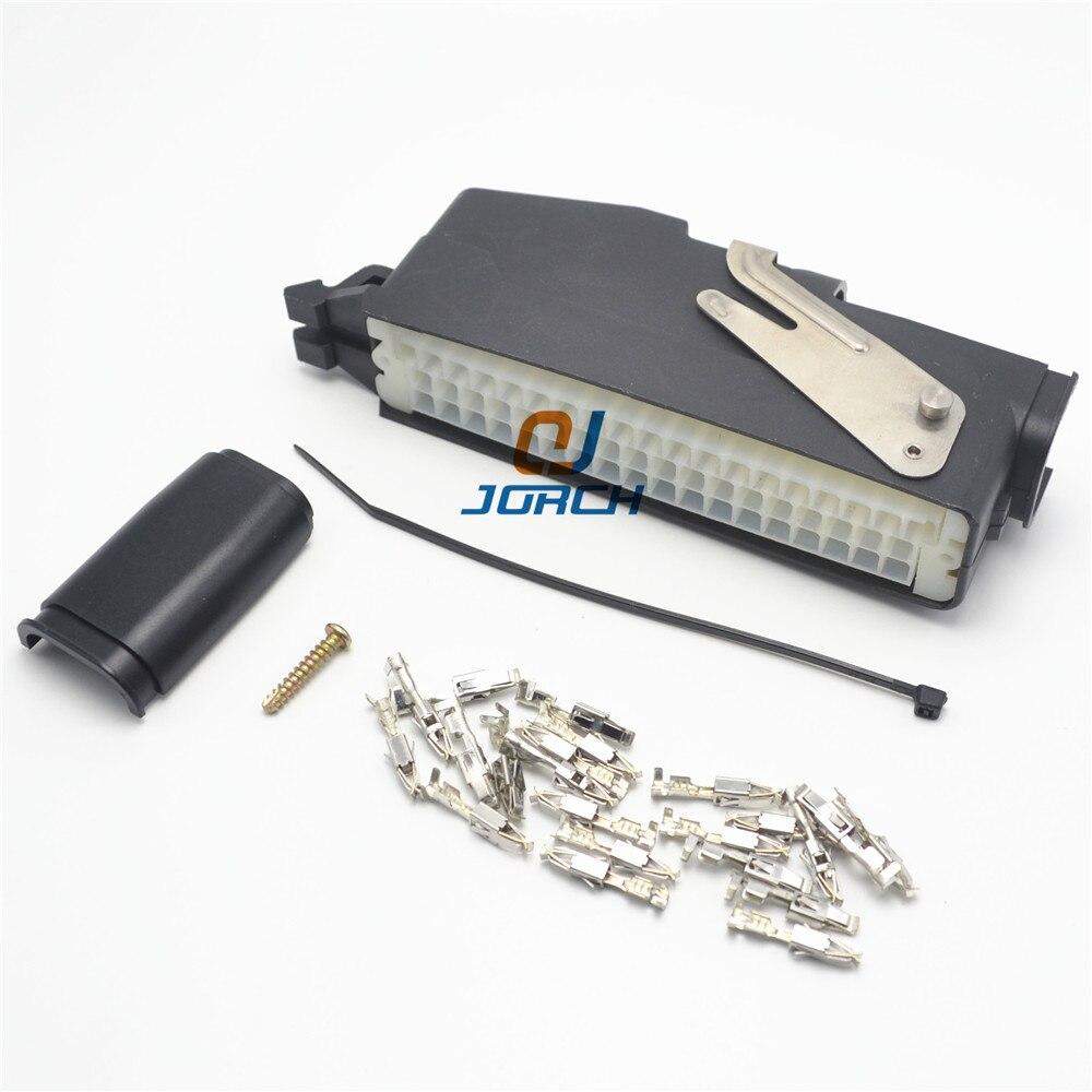 Conector de cabo elétrico automotivo de 55 pinos ecu amp com terminais 85126-1/936001-1/292096-1