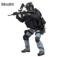 Mnotht 1:6 PMC VH 1030 частных военных солдатом модель с шлем/Gun/джинсы/пальто/очки/ сапоги для 12in фигурку игрушки l3