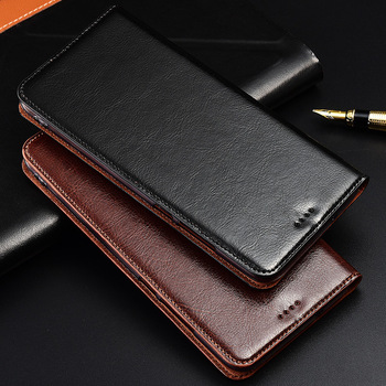 Genuine Cow Leather Case For Oneplus One plus 1 2 3 3T 5 5T 6 5T 7 7T 8 8T X Pro Magnetic Case Stand Flip Phone Cover