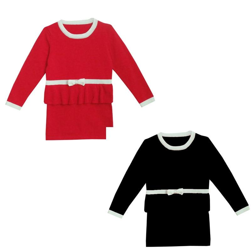 Nieuwe herfst Jongens Meisjes Trui Jurk Jumper Trui Meisje Knitwear - Kinderkleding