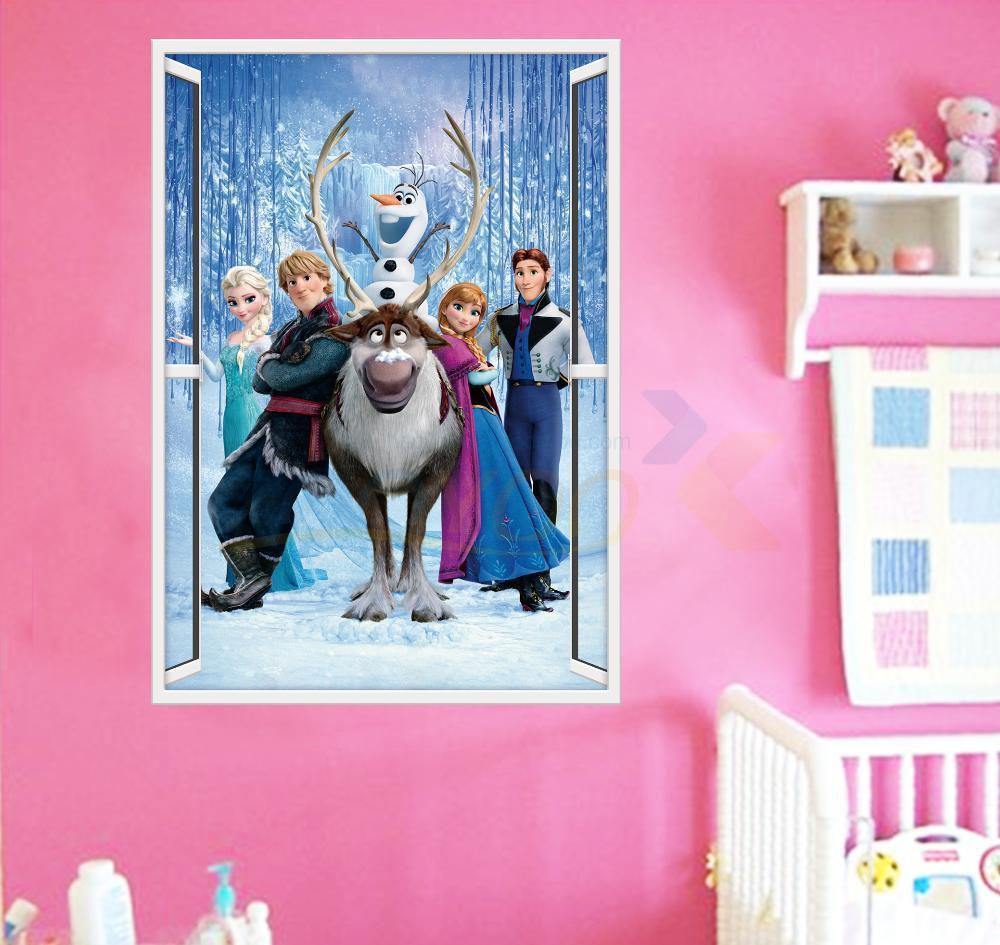 Love Gives Us A Fairytale Wall Stickers Bedroom Decor Vinyl Art Fireplace Decal