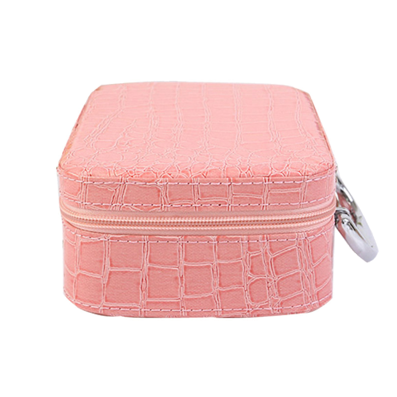 Yesello Stone Pattern Portable Cosmetic Bag Large Capacity Makeup Cosmetic Case Travel Wash Bag luxcel travel accessory fashion cosmetic case bag large capacity portable women makeup necessaire storage