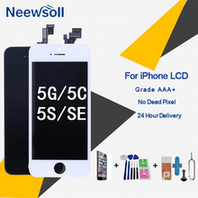 Factory LCD Display For iPhone 5S Screen Digitizer Replacement For iphone 5G Display Replacement Assembly For