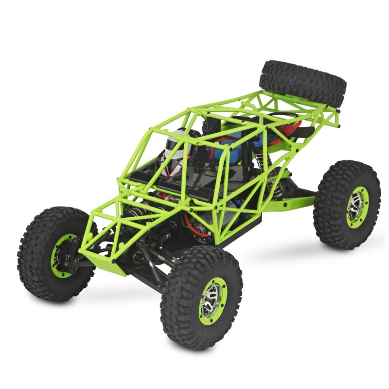 2017 Remote Control bigfoot off road car <font><b>10428</b></font> 1/10 scale Electric RC Rock Crawler car 30KM/h 4WD RC vehicle Toys vs HBX 12891 image