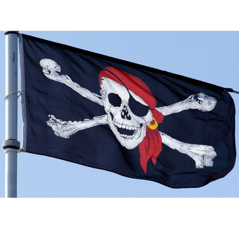 Kill Em All Flag 5Ft X 3Ft Pirate Jolly Roger Halloween Banner With 2 Eyelets