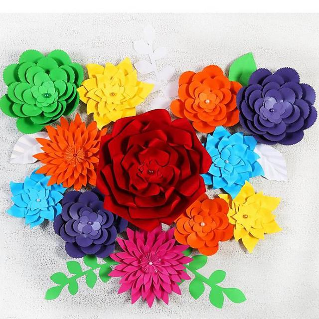 buying paper flowers