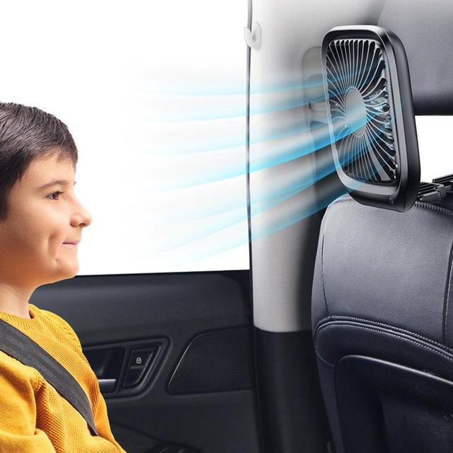 12v Three-Speed Adjustable Mini Car Fan, Ideal for those Summer Road Trips With the Family