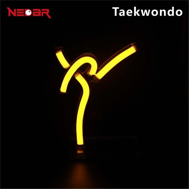 LED Neon Kunst Dekoration Zeichen mit 12 V ultra helle led neon ...