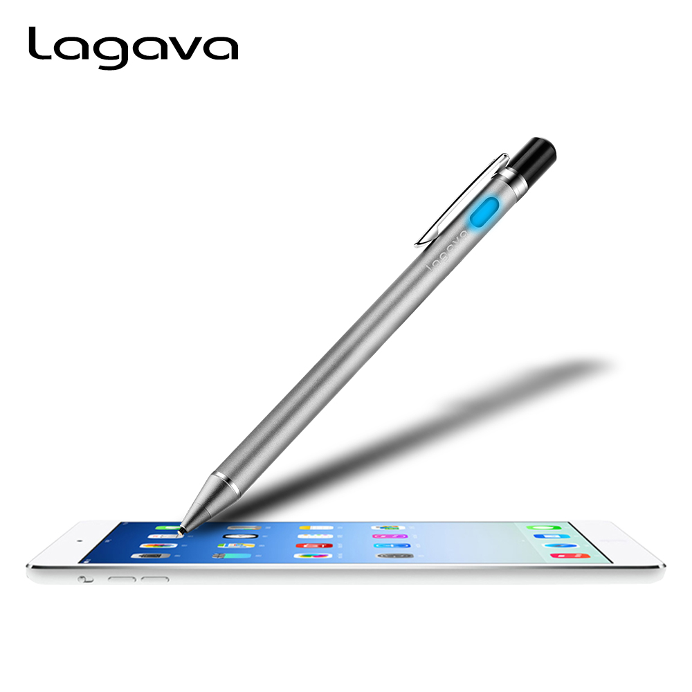 Lagava Universal Active Stylus Pencil, Tablet Screen Touch Pen With 1.45mm Tip Nib for iPad Air 2 Skething Drawing Lettering аксессуар защитное стекло для xiaomi redmi 5 svekla full screen black zs svxirmi5 fsbl