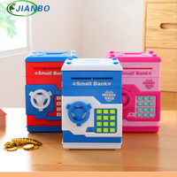 Safety Electronic Piggy Bank Code Digital Coins Cash Deposit Money Box Secret Mini ATM Machine Children
