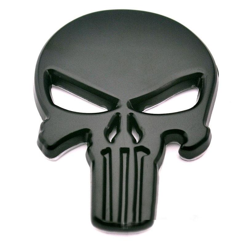 Rhino Tuning THE Punisher Body Badge 3D Skull Sticker ...