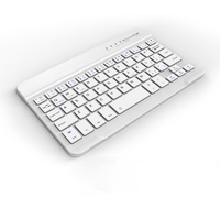 Wireless Bluetooth Ultra Thin Keyboard For Apple IPad Mini1 2 3 Mobile Phone Tablet PC Android