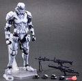 Figura de acción PA Play arts cambio Star Wars tormenta soldados PVC 27 cm Kai Imperial Stormtrooper blanco regalo de la muñeca Modelo Anime