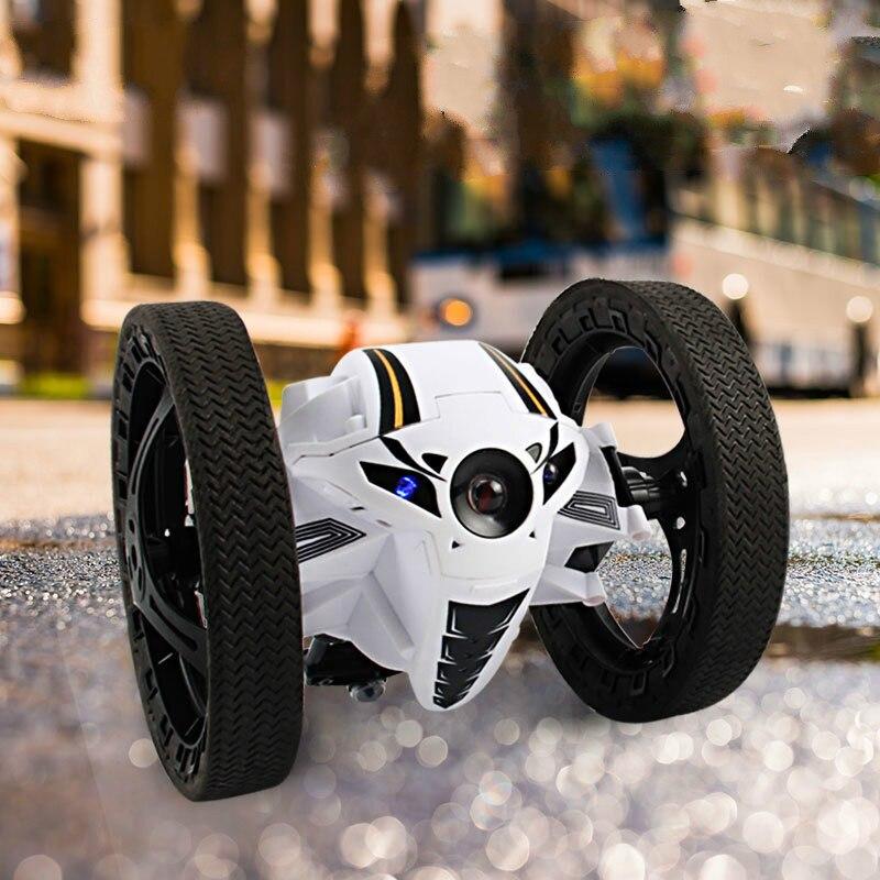 Mini Rebond RC Voitures 2.4 GHz Forte Saut Sumo RC Voiture avec Flexible Roues Télécommande Robot Voiture pour Cadeaux