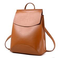 2018 HOT Fashion Women Backpack High Quality PU Leather Backpacks for Teenage Girls Female School Shoulder Bag Bagpack mochila