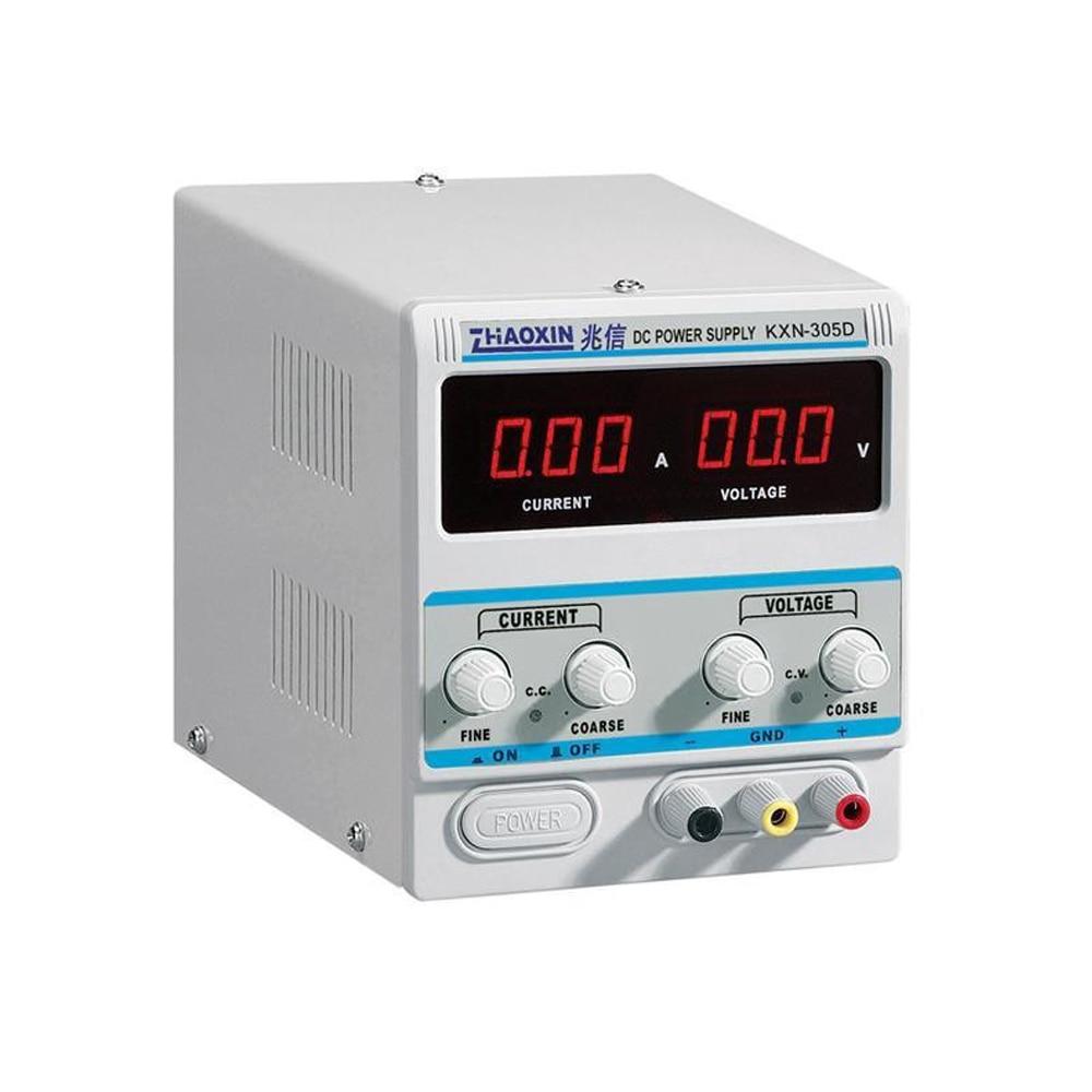 Haute qualité KXN-305D DC alimentation/0-30 V 0-5A ordinateur portable réparation DC alimentation réglable 30 V 5A DC alimentation