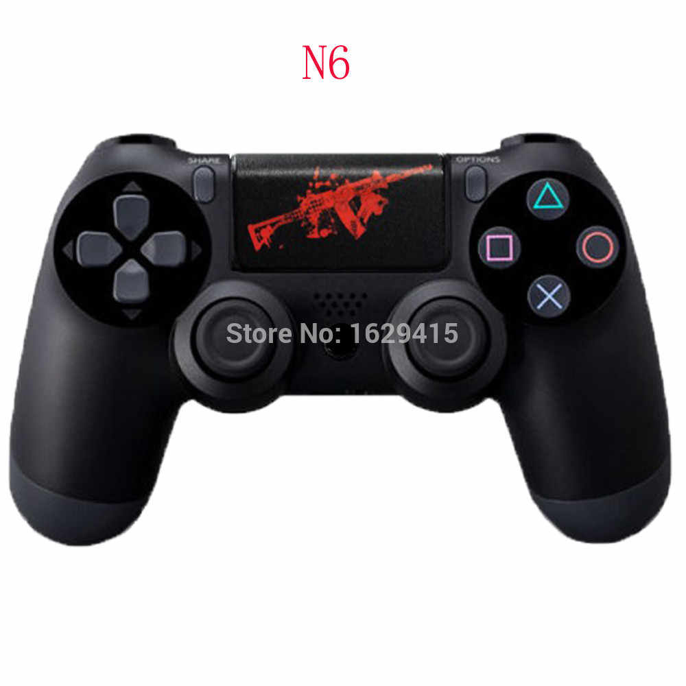 Ivyueen untuk Sony DualShock 4 PS4 Pro Slim Controller PVC Touch Pad Decal Vinyl Stiker untuk PlayStation 4 Touchpad Cover