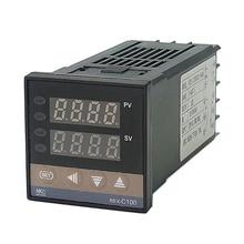 цена на RKC REX-C100 Digital PID Temperature Controller relay output for 40A SSR Relay/K