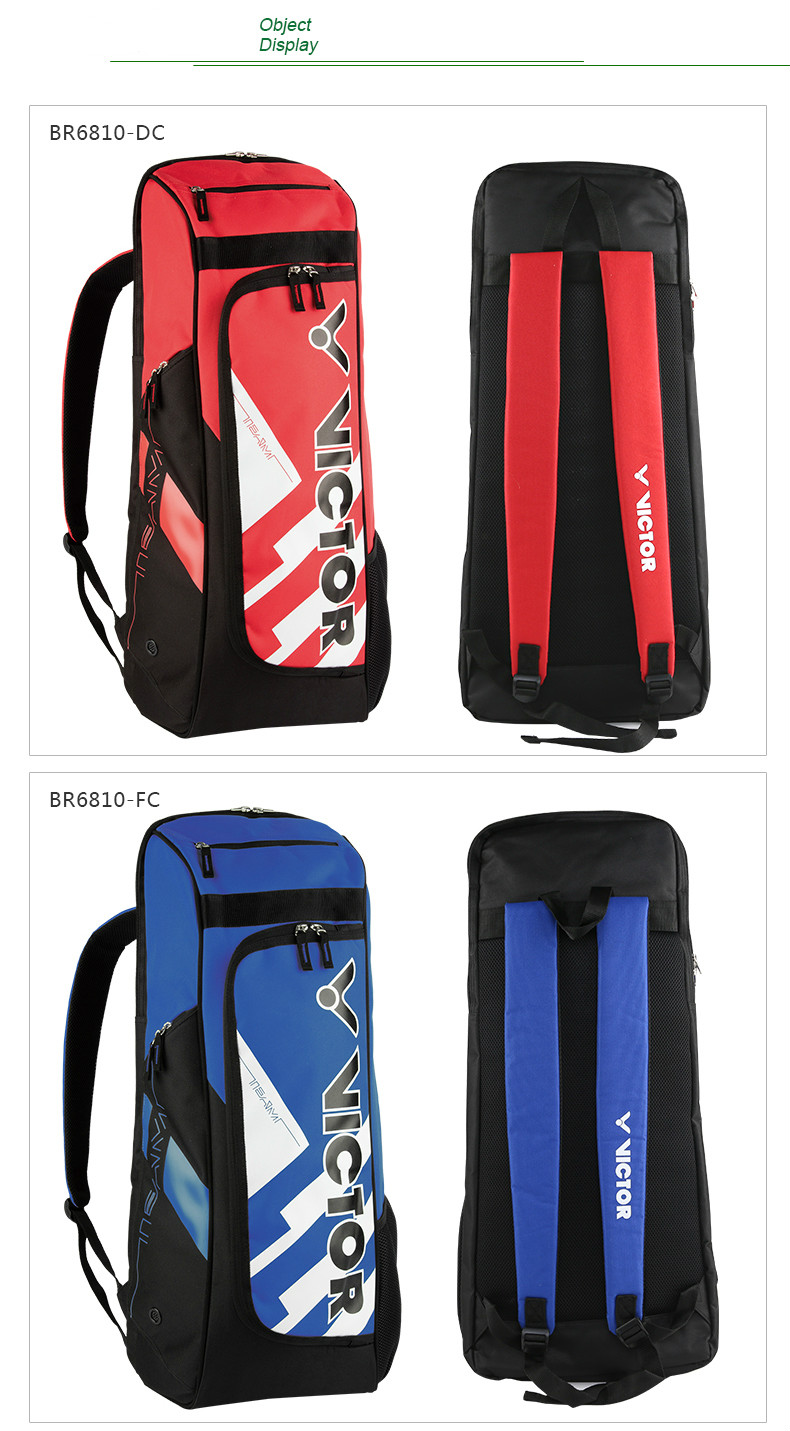 Original Victor High Quality Badminton Racket Bag Waterproof Sports Carry  Bags Single Shoulder Adults Men And Women BR6810 6971002043c72