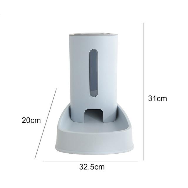 3.8L Automatic Cat Food Dispenser 5