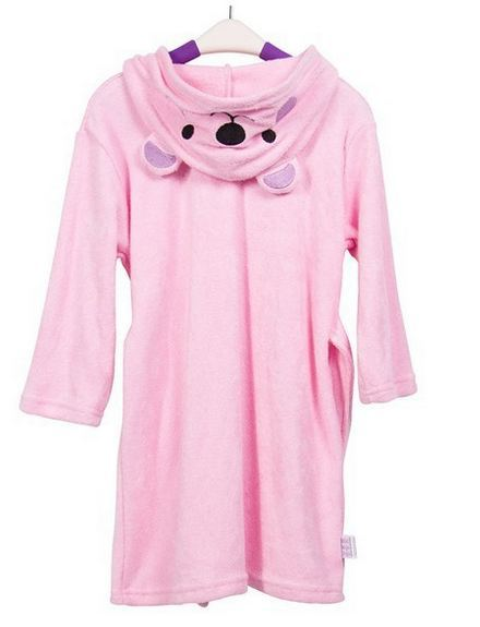 2017 New Cartoon Kids Pajamas Sleep Robe Baby Bamboo Cotton Bathrobes Kids Bath Towel Supper Soft Pijama