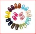 Оптовые Кожа PU Бахромой Девушка Новорожденный Мальчик Кроватки Детская Обувь Мягкой Подошве Летние Детские Мокасины