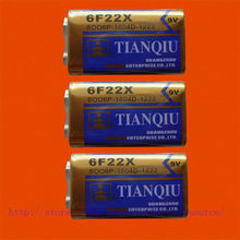 3X Bateria 6f22 6f22x 6lr61 Heavy Duty 9 V