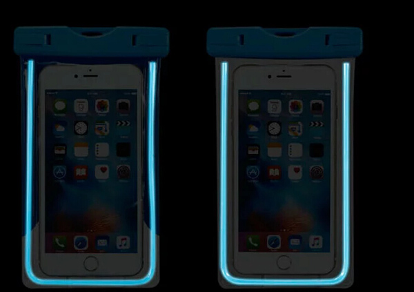 luminous Arm Band Belt Touch Screen Waterproof Mobile <font><b>Phone</b></font> Case For Huawei Honor 6x (2016),ZTE Blade <font><b>V</b></font> PlUS/A610/V580,Meizu <font><b>M3</b></font>
