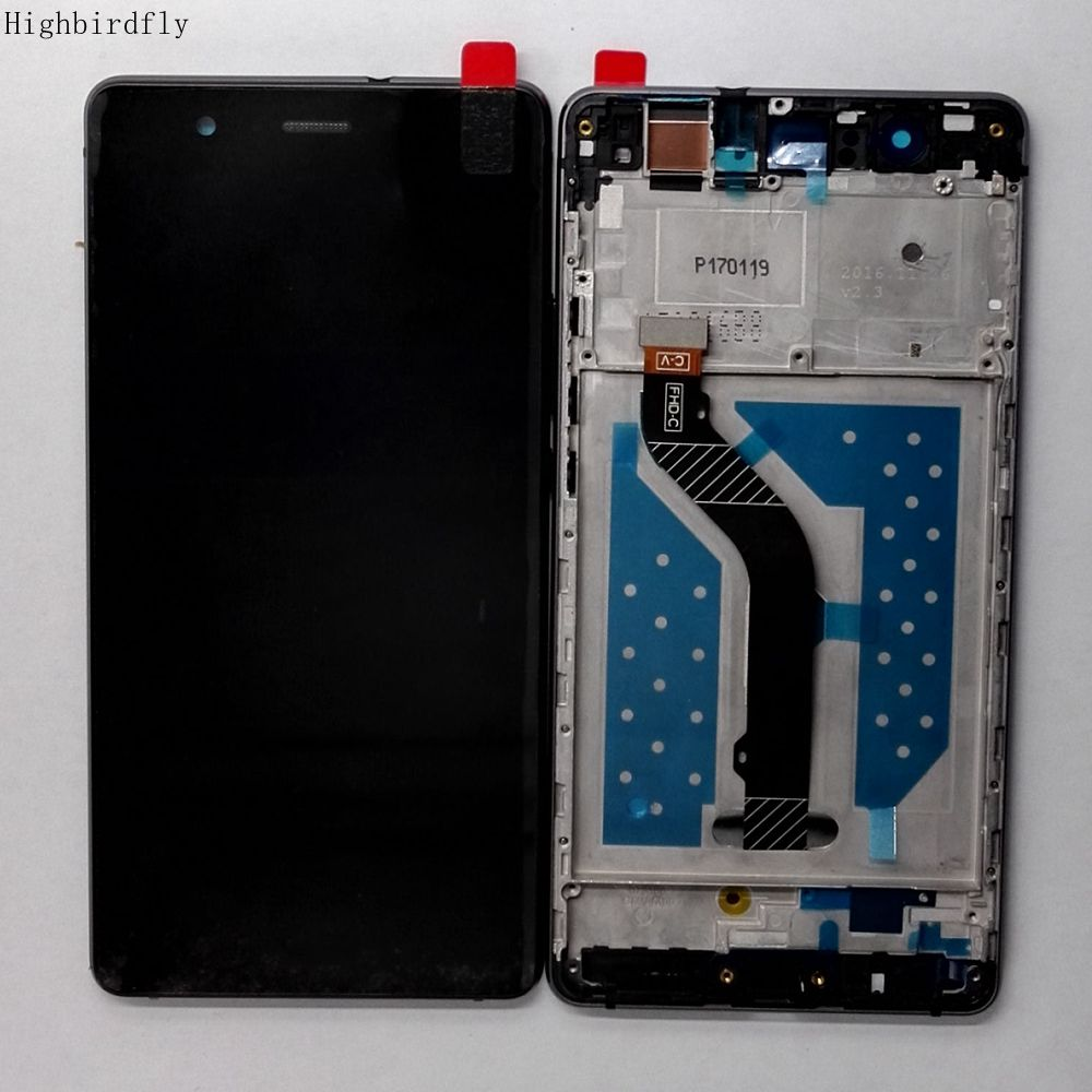 For Huawei P9 lite / G9 VNS L21 VNS L23 VNS L22 Lcd Screen+touch Glass Digitizer +Frame Assembly Replacement lcds