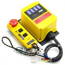 A2hh talha elétrica um tipo direto interruptor de controle remoto industrial 220v built in contator com parada de emergência