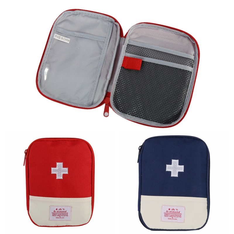Useful Portable Units Home First Aid Kit Emergency Survival Outdoor Camping Storage Bag Organizer Hunting Travel