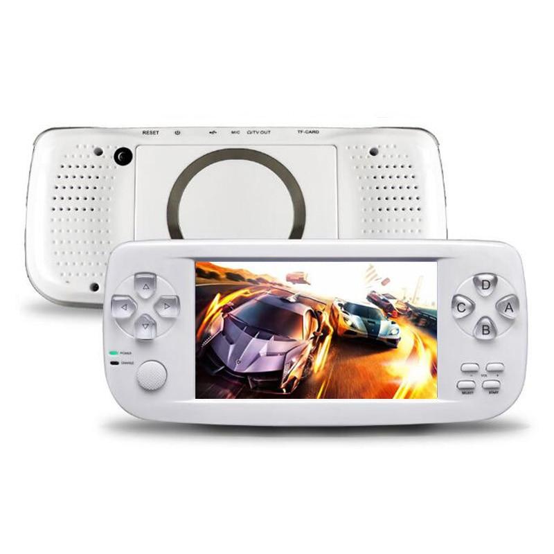 HOT 64 bits 4.3 pouces intégré 3000 jeux PAP K3 pour CP1/CP2/GBA/FC/NEO/GEO Format Console de jeu vidéo Portable HD Portable