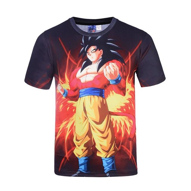 Dragon Ball T Shirt Men Summer Dragon Ball Z Mens 3D T-Shirts Casual T-shirt Homme