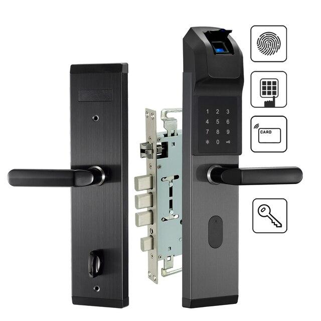 Electronic Biometric Fingerprint Door Lock Keyless Digital Door Lock For  Smart Home Anti Theft Intelligent