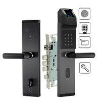 Electronic Biometric Fingerprint Door Lock Keyless Digital Door Lock For Smart Home Anti theft Intelligent Lock